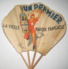Image result for vintage advertising paper fans