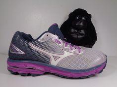 ASICS Gt 2000 Womens Size 7 Narrow 2a Running Shoes Graypinkblue EUC