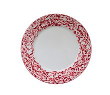 Rojo Dinner Plate. Boy is Rojo red! Fabulous for the fall and winter, but also cool enough for spring time breakfast on the porch.