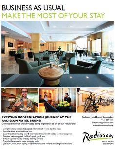 Published: biG Magazine – Radisson Hotel Brunei Darussalam