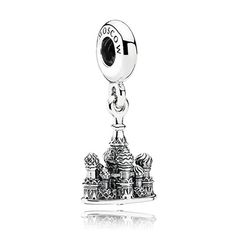 Make sure to add PANDORA's cute detailed St. Basil's Cathedral dangle charm to your collection after seeing it in real life. It's an adorable travel memento. #PANDORAcharm