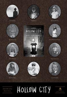 Recensione libro Hollow City (Miss Peregrine's peculiar children di Ransom riggs I Love Books, Good Books, My Books, Books To Read, Hollow City, City Poster, Miss Peregrine's Peculiar Children, Peregrine's Home For Peculiars, Miss Peregrines Home For Peculiar