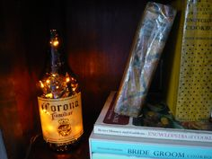 Bottle lamp:)