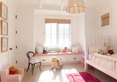 Kids Bedroom. Kids Bedroom Window Seat. Kids Bedroom Window Seat Ideas. #KidsBedroom #WindowSeat Graystone Custom Builders.