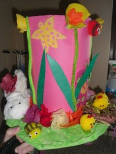 Easter Bonnets #netmums #easter #bonnet