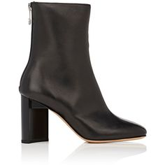 Maison Margiela Women's Leather Ankle Boots (€905) ❤ liked on Polyvore featuring shoes, boots and ankle booties