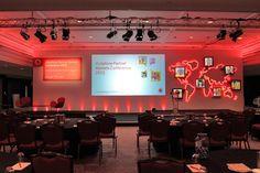 it conference set design - Google Search