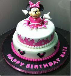 Joker Minnie Mouse Cake