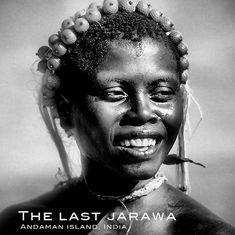 Jarawa girl, Andaman island
