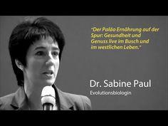 """Dr. SabinePaul. Videoaufzeichnung ihres Vortrages """"Der Paläo-Ernährung auf der Spur."""" - YouTube"""