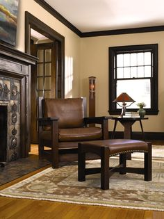 Enduring Quality And Livible Style Are Embodied In This Stickley Eastwood  Chair And Ottoman. Find Stickley Fine Furniture At West Coast Livingu0027s  Laguna ...