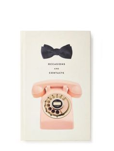 occasion and contacts address book - Kate Spade New York