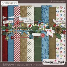 I Still Believe Digital Scrapbook Mini Kit at Gotta Pixel. www.gottapixel.net/