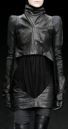 b080b527b94 Rick Owens Fall 2009 Minimal Fashion