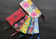 Small Sewing Projects, Project Yourself, Zipper Pouch, Bags, Handbags, Bag, Totes, Hand Bags