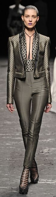 Haider Ackermann Spring 2013.  /.  Oohh i love the use of patterns