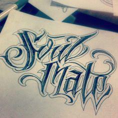 tattoo script lettering Calligraphy Tattoo Fonts, Tattoo Lettering Styles, Chicano Lettering, Tattoo Script, Script Lettering, Types Of Lettering, Calligraphy Letters, Graffiti Tattoo, Graffiti Lettering