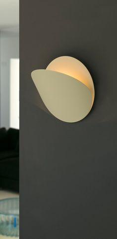 Applique murale ovo beige o24cm faro normal