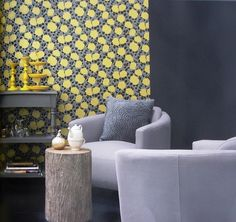 Brocante Wallpaper (source Vision Wallcoverings) / Wallpaper Australia / The Ivory Tower