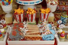 Vintage Carnival Birthday Party Ideas | Photo 8 of 37 | Catch My Party