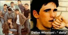 """Dallas Winston! : """" dally"""" 