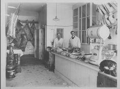 Edwin Paige Fulton Butcher shop, Edmonton c. 1915