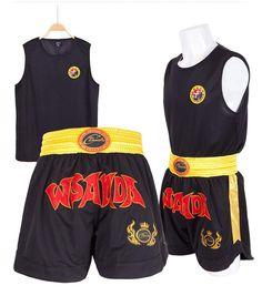 Kids Adults Boxing Uniforms MMA Muay Thai Shorts+T Shirts Martial Arts Grappling Fight Workout Outfits Clothing Set 2018 DCO. Grappling Shorts, Mma Shorts, Gym Wear, Muay Thai, Outfit Sets, Boxing, Fitness Models, Sportswear, Gym Shorts Womens