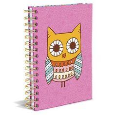 Owl Hard Bound Journ