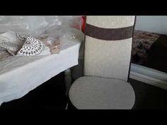 حصري على قناتي تغليفة الكرسي التركي ومن تصميمي (الجزء الاول الفصالة ) - YouTube Apron, Chair, Furniture, Home Decor, Decoration Home, Room Decor, Home Furnishings, Stool, Home Interior Design