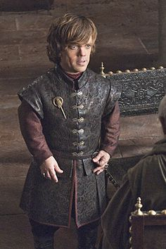 Peter Dinklage as Tyrion, the black sheep of the Lannister family.