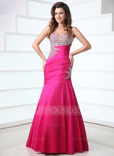 Prom Dresses - $166.49 - Trumpet/Mermaid Sweetheart Floor-Length Taffeta Prom Dress With Ruffle Beading (018017528) http://jjshouse.com/Trumpet-Mermaid-Sweetheart-Floor-Length-Taffeta-Prom-Dress-With-Ruffle-Beading-018017528-g17528?ver=xdegc7h0