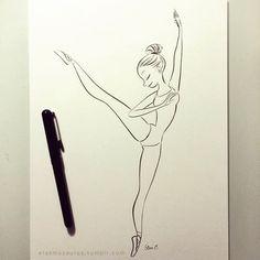 Ballerinas. Elsa Chang