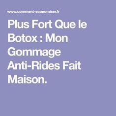 Plus Fort Que le Botox : Mon Gommage Anti-Rides Fait Maison.