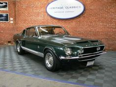 1968 Shelby GT500 - I want it!!!