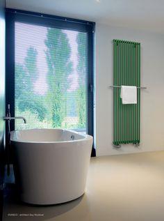 TREND 2016 - colour - The Vasco Veronica radiator - dealer: STUDIO BIESBOS Werkendam Verona, 2016 Trends, At Home Store, Scandinavian Interior, Stores, Bathroom Inspiration, Radiators, Blinds, New Homes