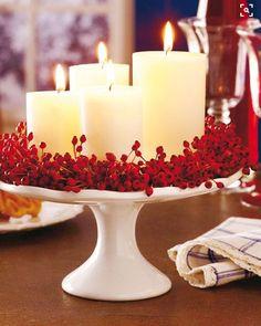 16 DIY de Noël pour décorer votre salle à manger | De la ruelle au salon