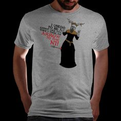Our latest great tee from artist Neilss1.......I used to be a knight like you then I took an arrow to the AAAAAARRRRRGGHHHHHHHQwertee : Limited Edition Cheap Daily T Shirts   Gone in 24 Hours   T-shirt Only £8/€10/$12   Cool Graphic Funny Tee Shirts