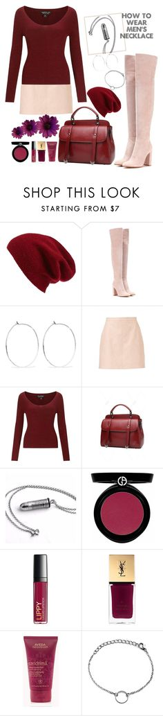 """""""how to: men's necklace"""" by felicitysparks ❤ liked on Polyvore featuring Halogen, Gianvito Rossi, Catbird, Miss Selfridge, Giorgio Armani, Butter London and Yves Saint Laurent"""