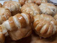 Sonkás-sajtos muffin Muffin, Mini Cupcakes, Sushi, Shrimp, Meat, Ethnic Recipes, Food, Eten, Cupcakes