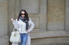 Today's outfit at Château de Vincennes in Paris. | Look do dia em Paris no château de Vincennes - Inverno 2014 #fall