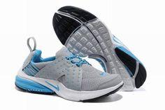 san francisco 99784 ab2ea Nike Air Presto V6 Frauenschuhe Lichtgrau Blau