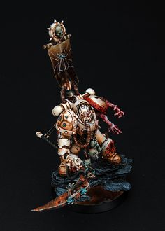 Converted chaos marine from French Waaagh  Holy crap that's good
