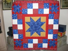 Stars of Valor Quilt by VickiM from the quiltingboard.com