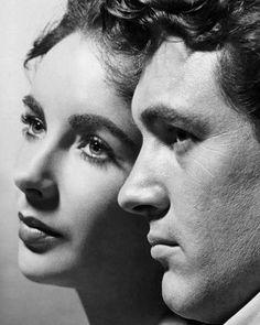 Elizabeth Taylor e Rock Hudson
