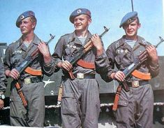 Color Photos of Soviet Airborne Trooper Forces