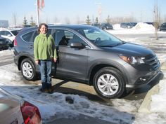 Congratulations Melissa on your beautiful new 2013 Honda CRV EXL! From all of us here at Sherwood Honda, Enjoy!