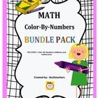 In this BUNDLE PACK, by the2teachers, you will receive the full products of the Color-By-Number Addition AND Subtraction packs.  You will receive a...