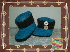 Escarpines crochet