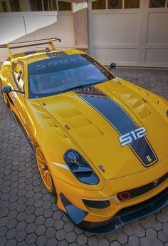 #Ferrari 599 #Evo XX #Car #SportCar #SuperCar #Auto