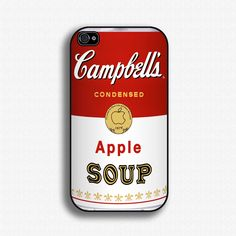 "Campbell's ""Apple Soup"" iPhone Case"